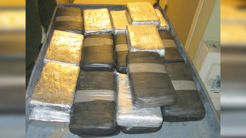 Checkpoint drug busts net $3M in smuggled coke