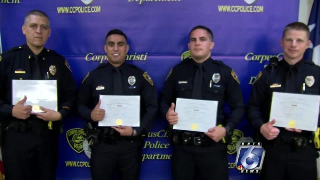 CCPD cops get lifesaving ribbons
