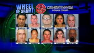 Wheel of Shame Fugitives: August 22, 2018