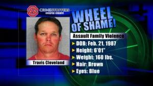 Wheel of Shame fugitive : Travis Cleveland