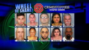 Wheel Of Shame, Nueces County's Most Wanted Fugitives: September 5,2018