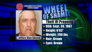 Wheel of Shame Fugitive: Jeffery Alan Adame