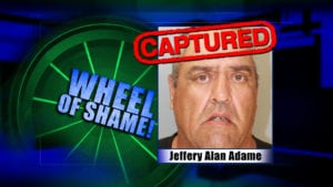 Wheel Of Shame Fugitive Arrested: Jeffery Alan Adame