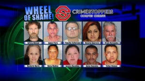 Wheel of Shame Fugitives: September 26, 2018