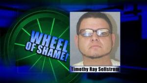 Wheel Of Shame: Timothy Sellstrom