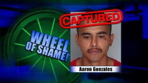 Aaron Gonzales Captured