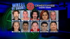 Wheel of Shame Fugitives: October 10, 2018