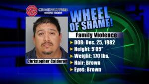 Wheel of Shame Fugitive: Christopher Calderon