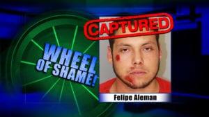 Wheel of Shame Arrest: Felipe Aleman