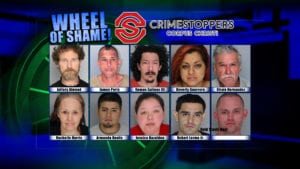 Wheel of Shame Fugitives: October 17, 2018