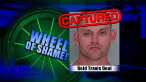 Wheel of Shame Fugitive Arrested: Reid Travis Deal