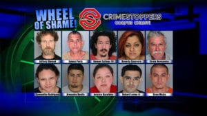 Wheel of Shame Fugitives: October 24, 2018