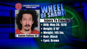 Wheel of Shame Fugitive: Ramon Salinas III
