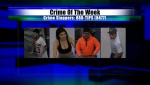 Crime Of The Week Suspects: October 24, 2018