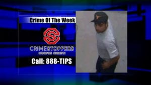 Crime Of The Week Suspect: October 24, 2018