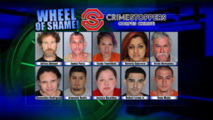 Wheel of Shame Fugitives: October 31, 2018