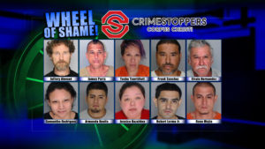 Wheel Of Shame Fugitives: November 7, 2018