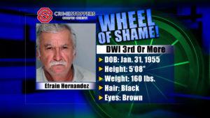 Wheel Of Shame Fugitive: Efrain Hernandez