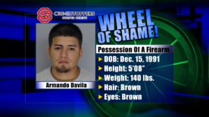 Wheel of Shame Fugitive: Armando Davila