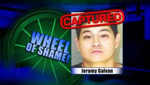 Wheel of Shame Arrest: Jeramy Galvan