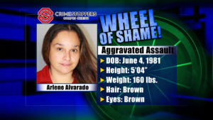 Wheel Of Shame Fugitives: Arlene Alvarado