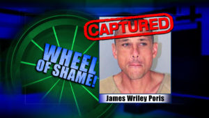 Wheel Of Shame Fugitive Arrested: James Wriley Poris
