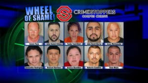 Wheel of Shame Fugitives: December 12, 2018