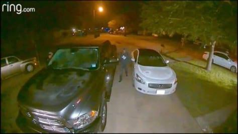 Hurlwood Circle auto burglar