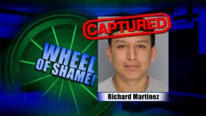 Wheel Of Shame Arrest: Richard Martinez
