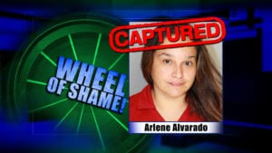Wheel Of Shame Arrest: Arlene Alvarado