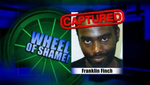 Wheel Of Shame Arrest: Franklin Finch