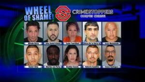 Wheel Of Shame Fugitives: January 9, 2019