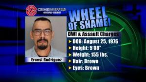 Wheel Of Shame Fugitive: Ernest Rodriguez