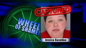 Wheel Of Shame Arrest: Jessica Bazaldua