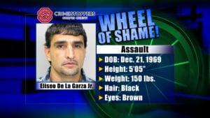 Wheel Of Shame Fugitive: Eliseo De La Garza