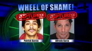 Wheel Of Shame Arrests: Patrick Garcia & Alfredo Garza
