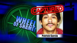 Wheel Of Shame Arrest: Patrick Garcia