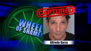 Wheel Of Shame Arrest: Alfredo Garza