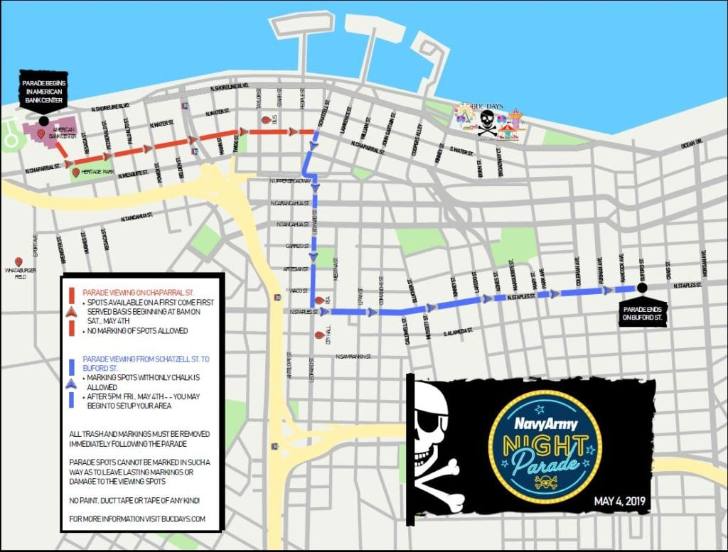 2019-Buc-Days-parade-route