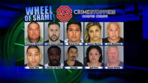 Wheel Of Shame Fugitives: February 6, 2019