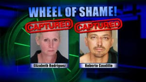 Wheel Of Shame Arrests