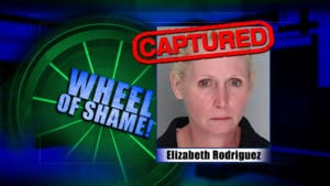 Wheel Of Shame Arrest: Elizabeth Rodriguez