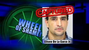Wheel Of Shame Arrest: Eliseo De La Garza Jr-