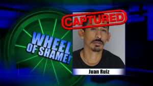 Wheel Of Shame Fugitive Arrest: Juan Ruiz
