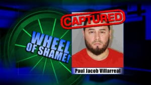 Wheel Of Shame Arrest: Paul Jacob Villarreal