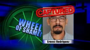 Wheel Of Shame Arrest: Ernest Rodriguez