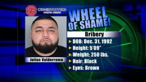Wheel Of Shame Fugitive: Julian Valderrama