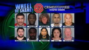 Wheel Of Shame Fugitives: March 13, 2019
