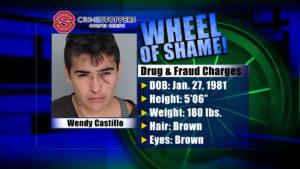Wheel Of Shame Fugitive: Wendy Castillo