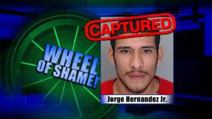 Wheel Of Shame Arrests: Jorge Hernandez Jr